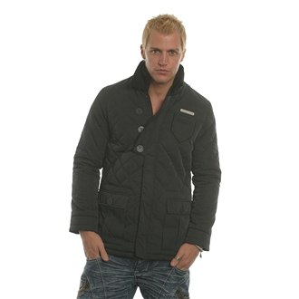 Black Nanny State Mens Quilted Jacket