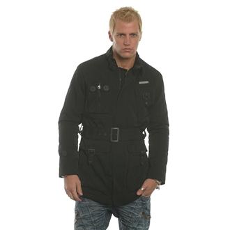 Mens Black Nanny State Belted 23 Jacket