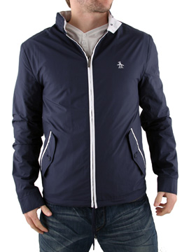 Original Penguin Ratner Black Hooded Jacket