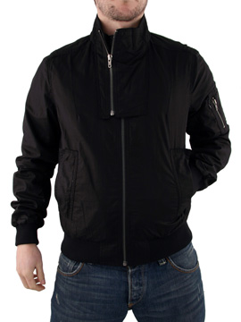 Black Religion Double Zip Jacket