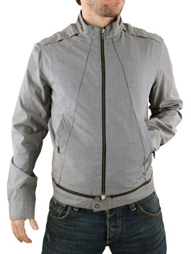 Mens Religion Zip Off Jacket